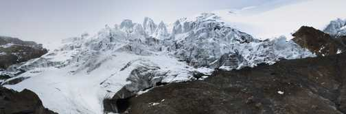 Cayambe Glacier Snout