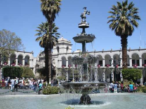 Arequipa is a fine city