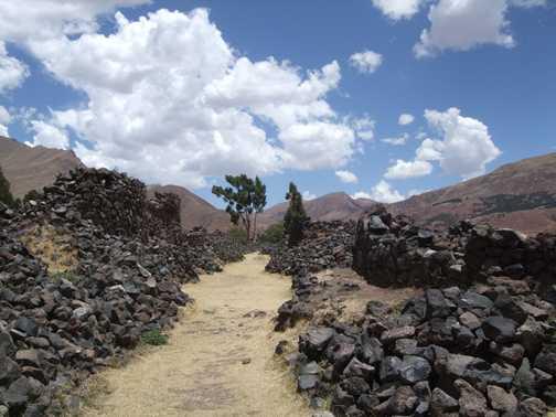 Volcanic ruins