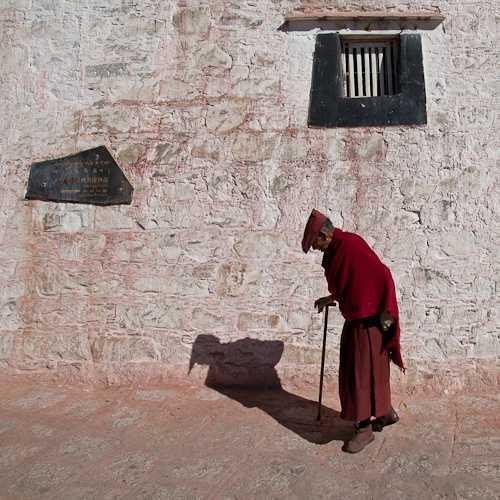 Monk at Drepung Monastery