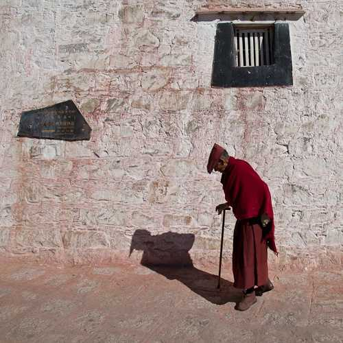 Monk at Drepung Monastery