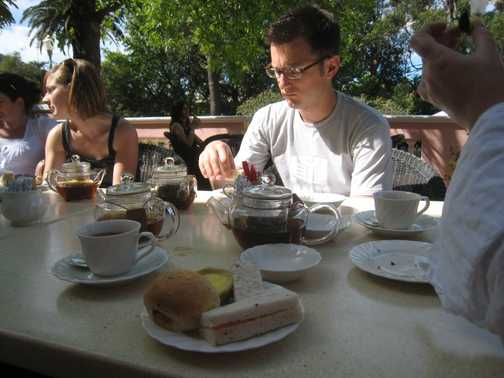 Mount Nelson - afternoon tea (2)