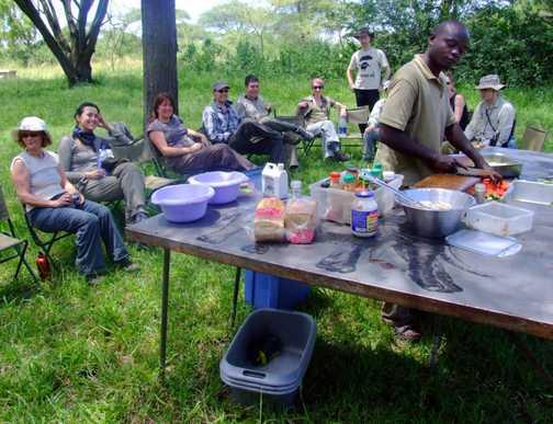 Lunchtime Serengeti
