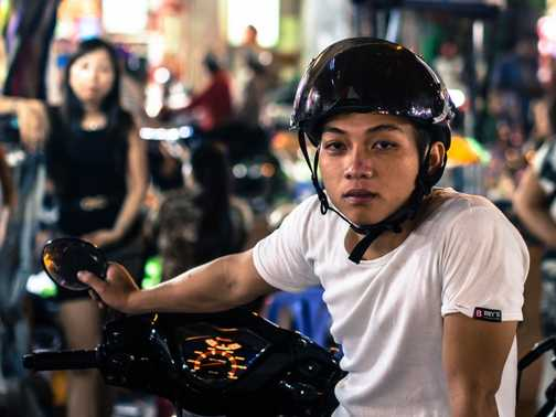 Motorcycle Boy