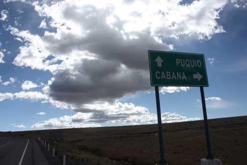 Big sky en route
