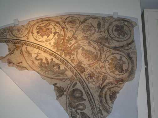 Fine mosaics Tripoli museum