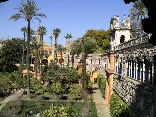 5/2: Mercury Fountain at the Alcazar, Seville