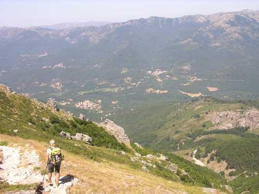 Scambling on Col de Bavella
