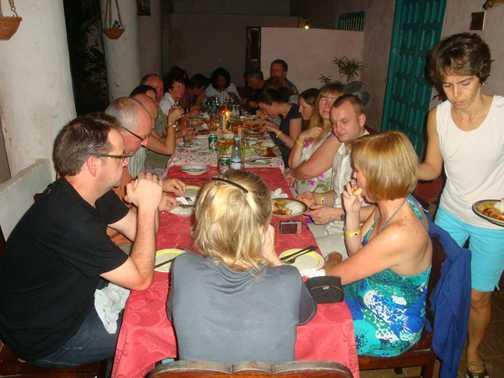 DINNER IN TRINIDAD