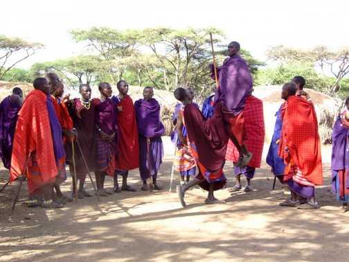 Masai Village Dance