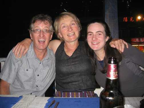Dave, Ann and Anna in Rumdoodles