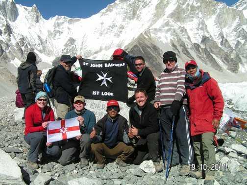 Group at Everest Base Camp
