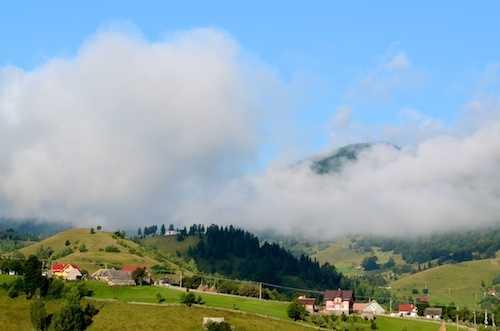 Mist on the mountain