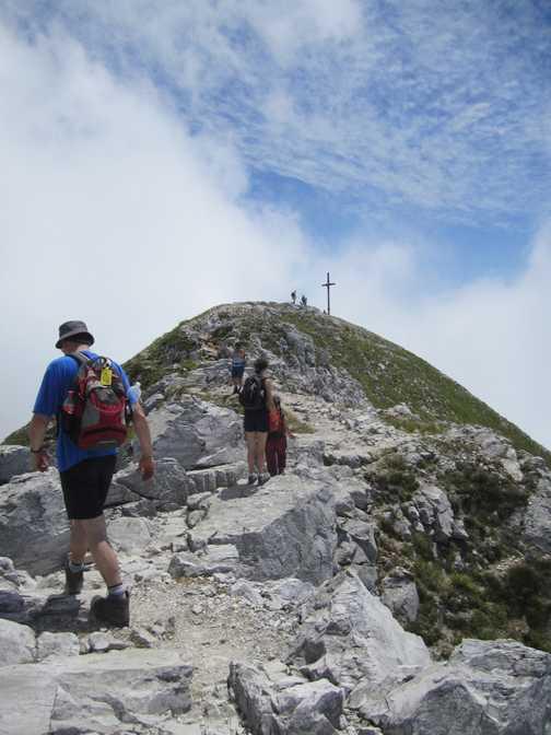 On the ridge of Pannia Della Croce