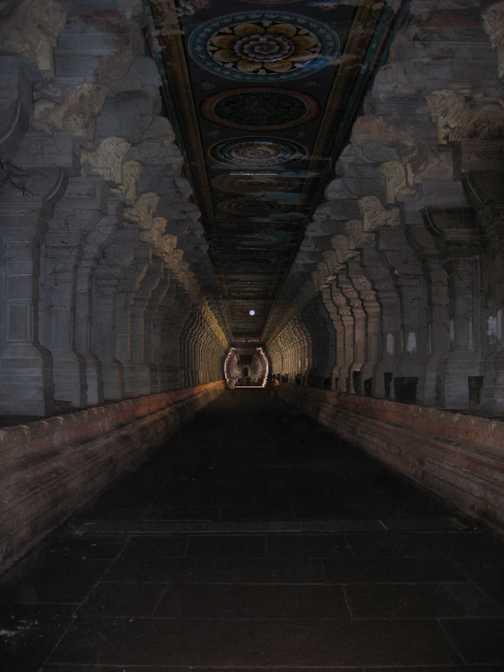In temple in Rameswaren