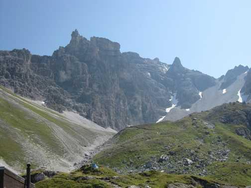 View from Tribulaun Hutte
