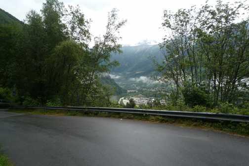 mont blanc ascent 2010