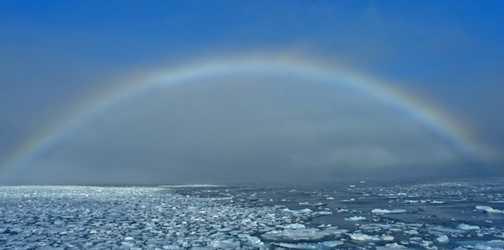 Cold rainbow