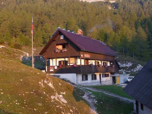 Day 6 - Blejaska Koca Dom at sunrise