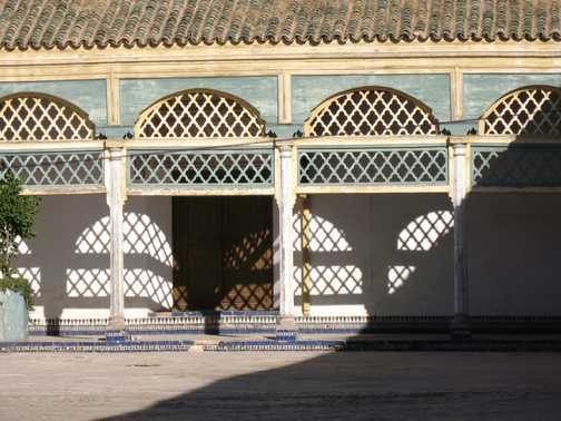 Bahia Palace main court