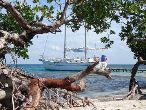Boat to Cayo Macho