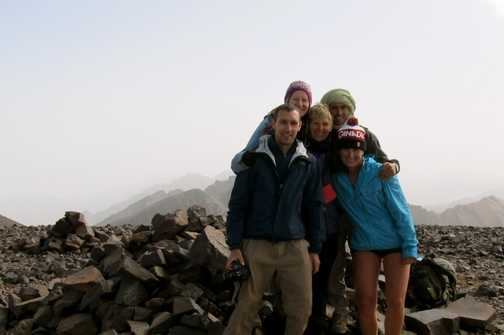 Half our group chose to do the third peak