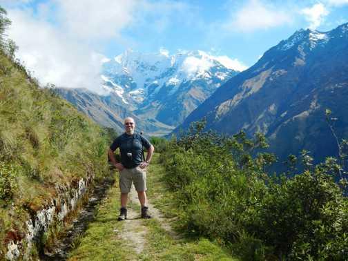 Me and Mt Humantay.