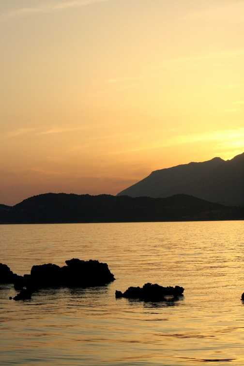 Sunset in Kas harbour