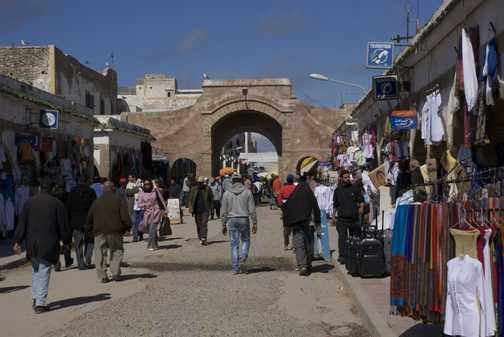 Entranec to the Medina, Essaouira