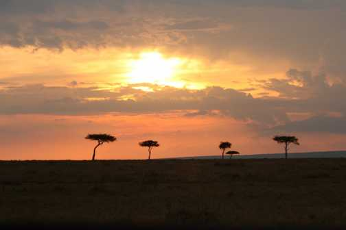 Mara Sunset - perfect end to the day!