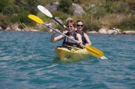 Kayaking!