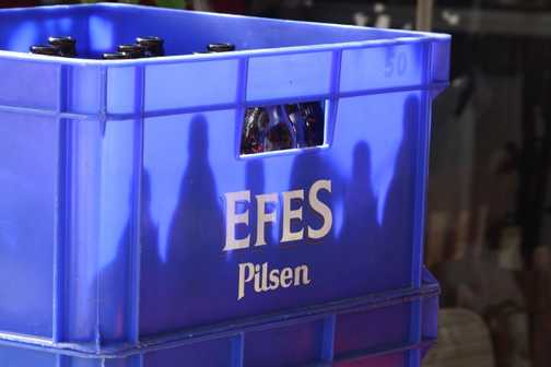 Efes - the monopolist's beer of cholice