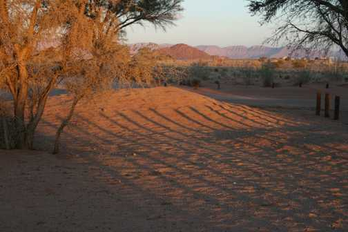 pink dunes