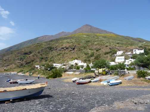 Stromboli - the morning after the night before..