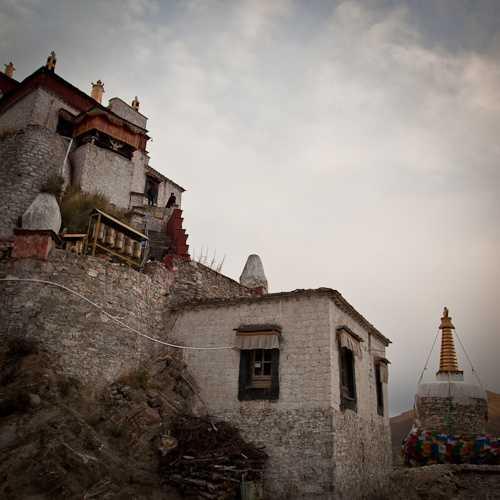 Ferry to Samye monastery