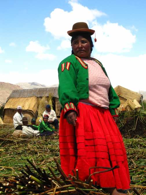 On the Uros Island