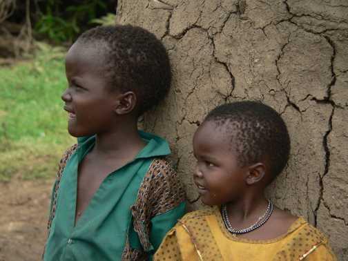 Massai Children