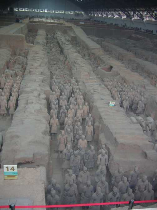 Xian Terroctta  Warriors