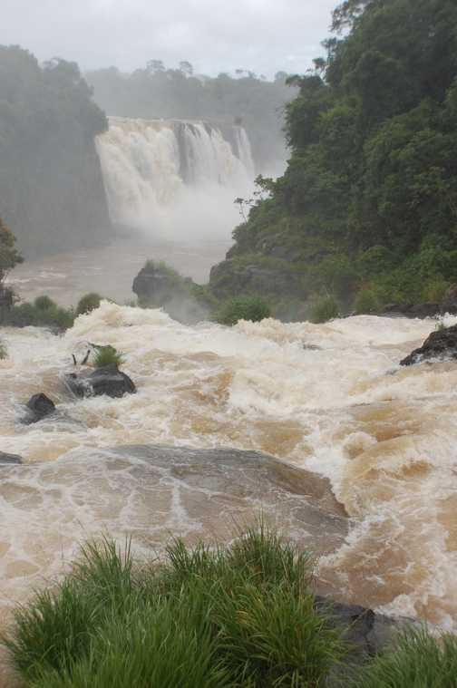 The Falls from the Brazil side