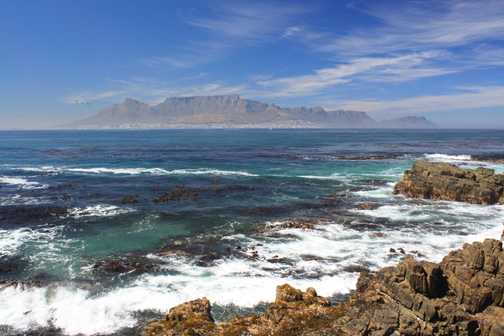 Table Mouintain From Robben Island
