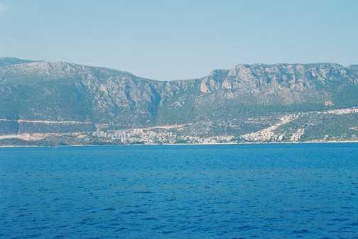 Turkish coastline