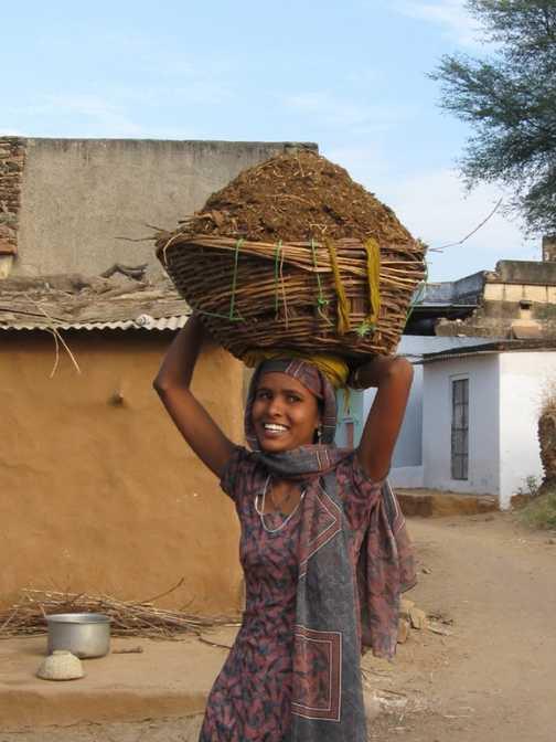 Village scene - Abaneri