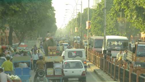 traffic hazards, Jaipur