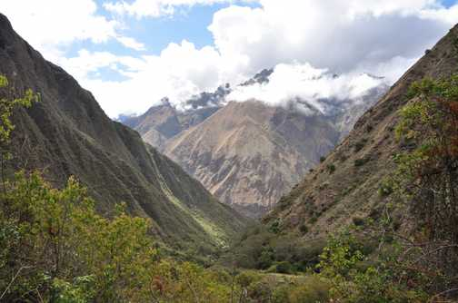 inca trail views
