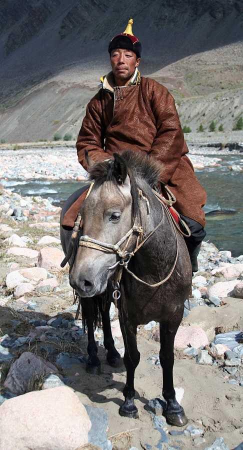 Mongolian horseman