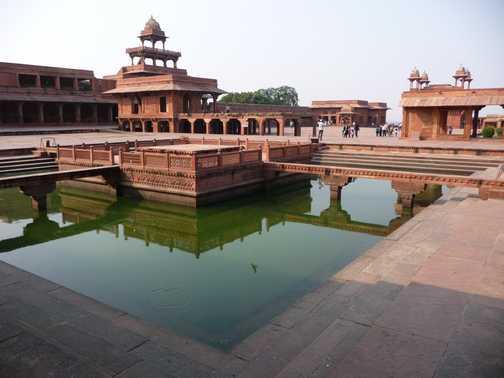 Fatehpur Sikri, abandoned city near Agra