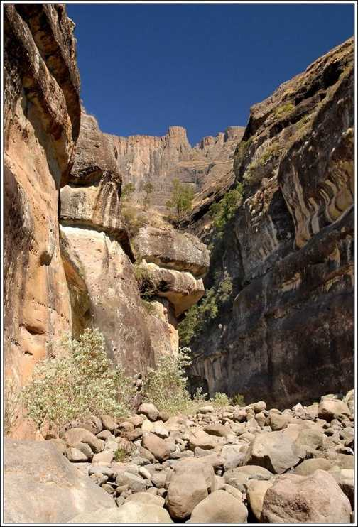 The Tugala Gorge, Drakensberg Mountains