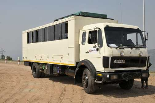Exodus truck