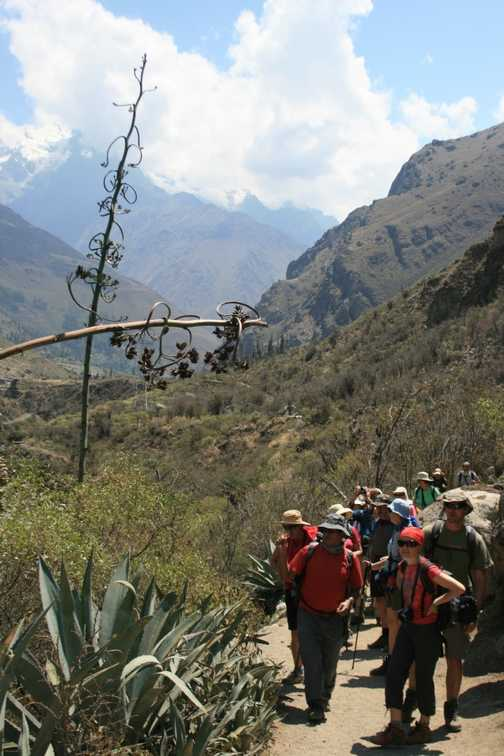 Inca trail, day one