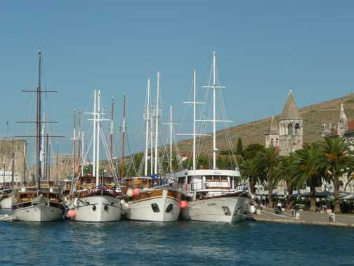 Trogir harbour